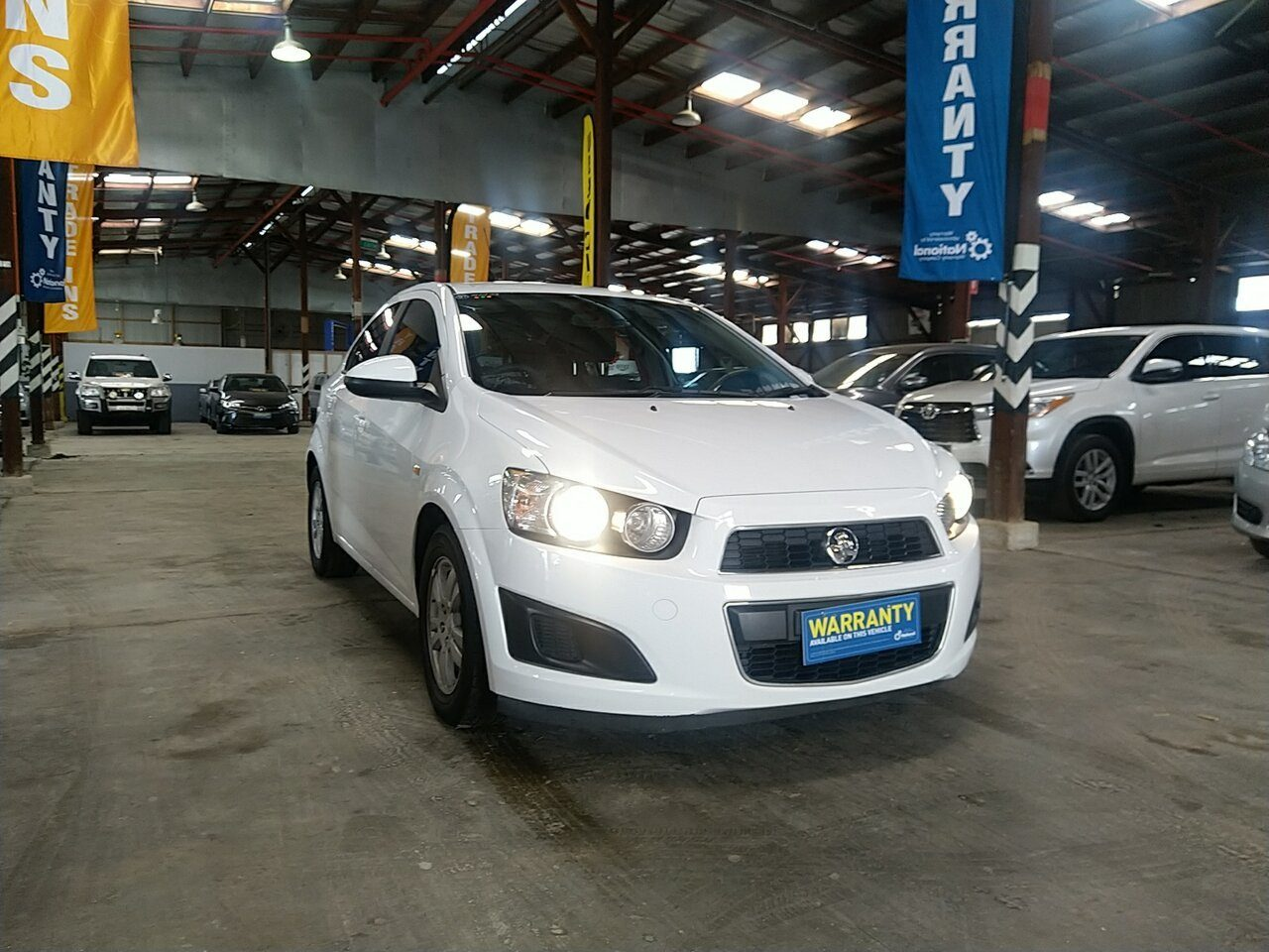 2013 Holden Barina CD TM MY13