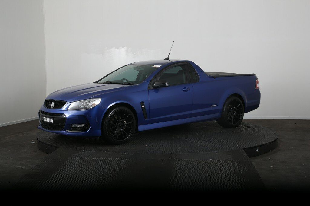 2016 Holden Ute SV6 Black Edition Vfii MY16