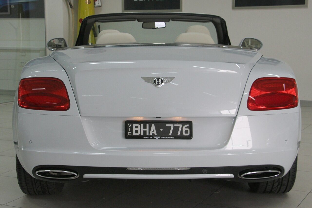 2012 Bentley Continental GTC 3W MY13