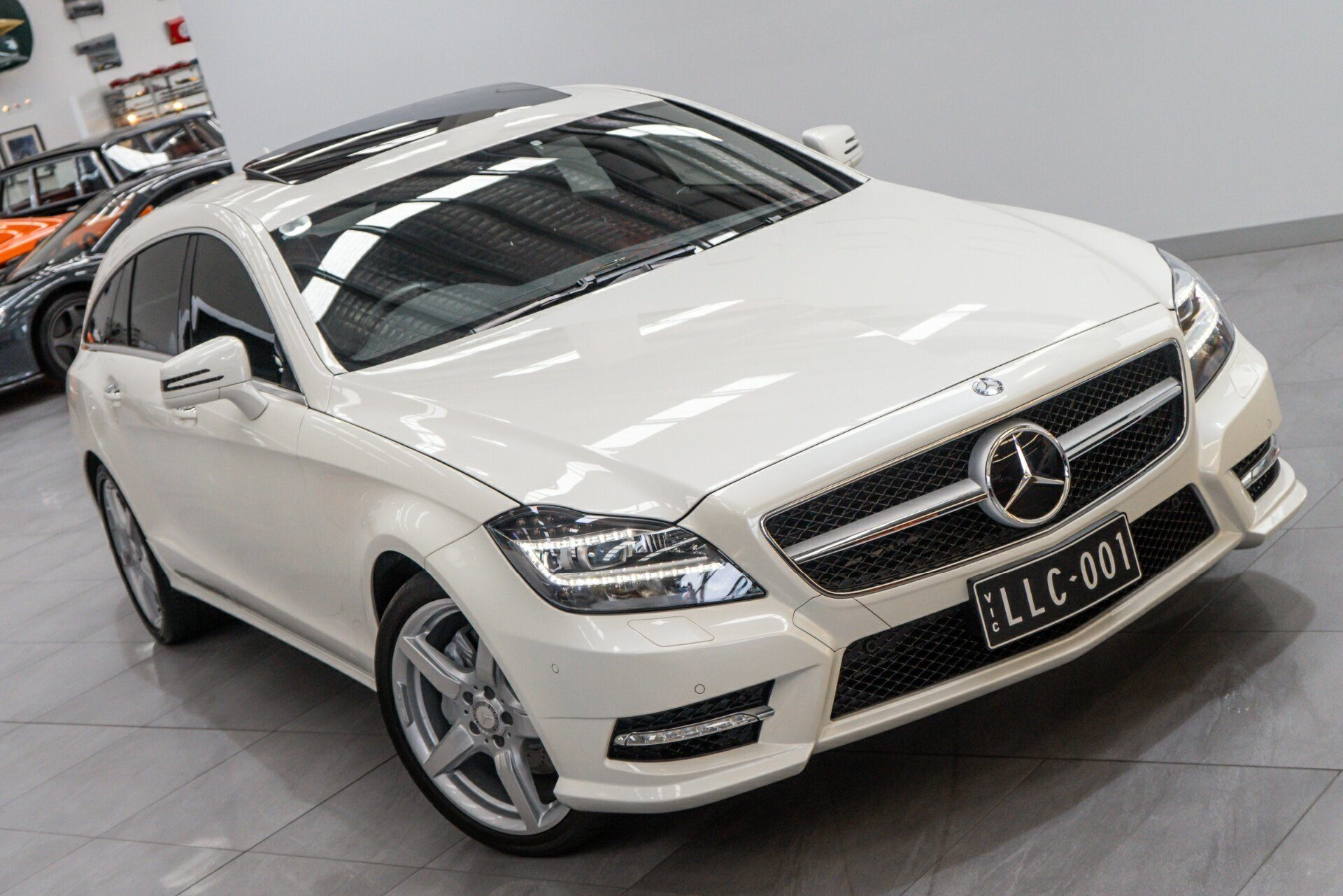 2013 Mercedes-benz Cls350 Shooting Brake Blueefficiency 218 My13