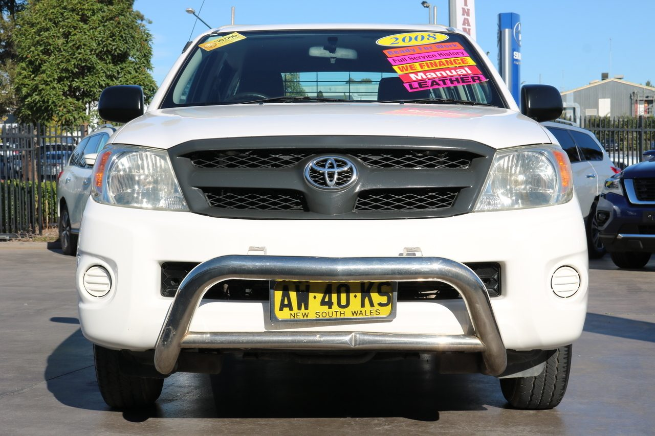 2008 Toyota Hilux Workmate 4x2 TGN16R MY08