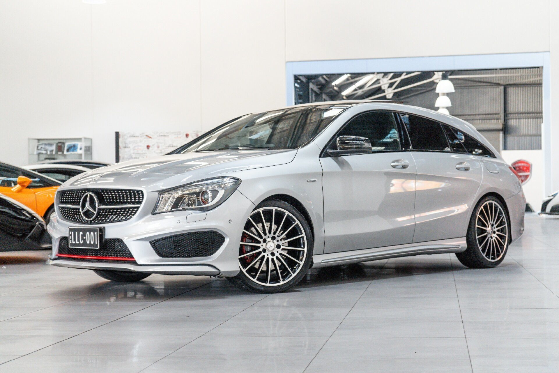 2015 Mercedes-benz Cla250 Shooting Brake 4matic 117