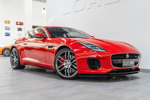 2017 Jaguar F-type 2.0 R-dynamic Rwd (221kw) My18