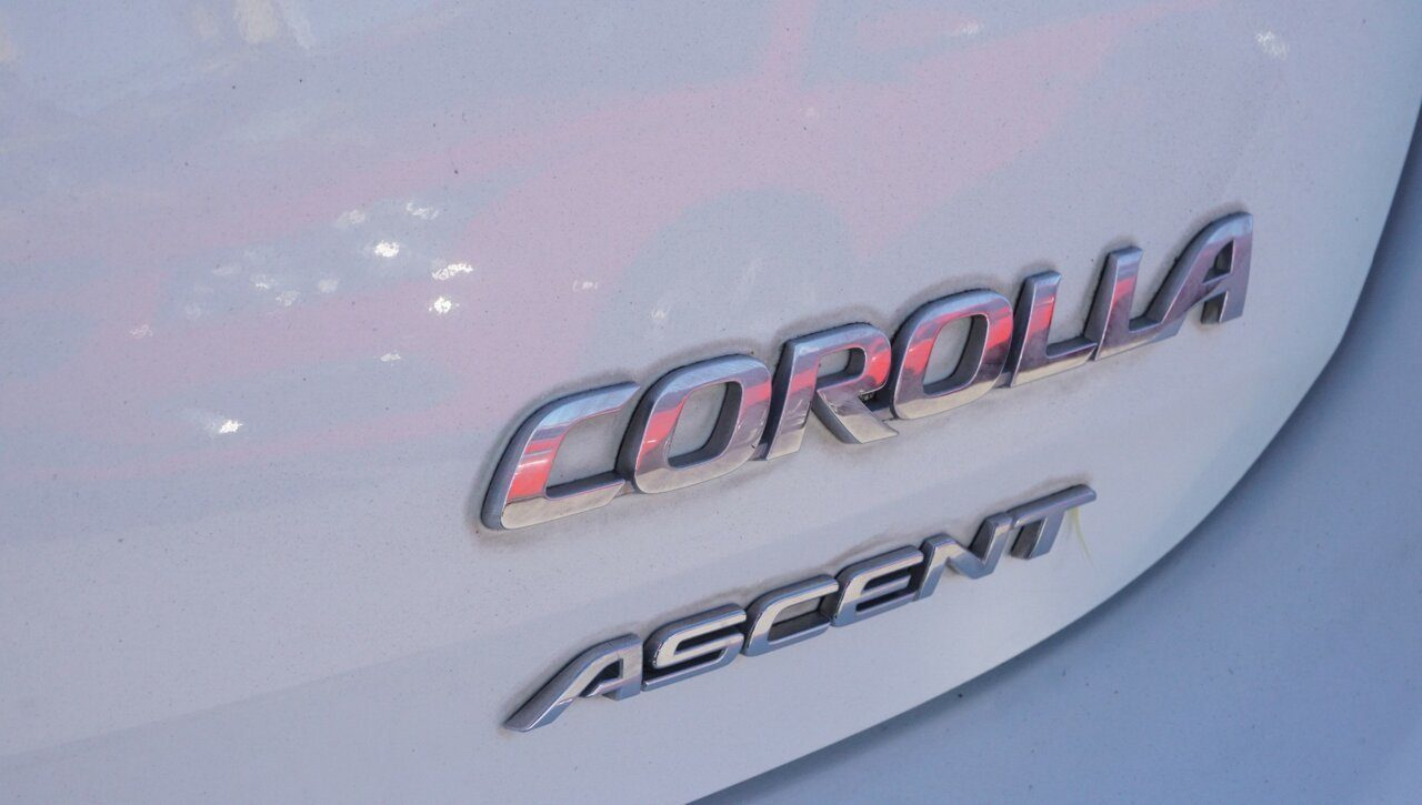 2012 Toyota Corolla Ascent ZRE152R MY11