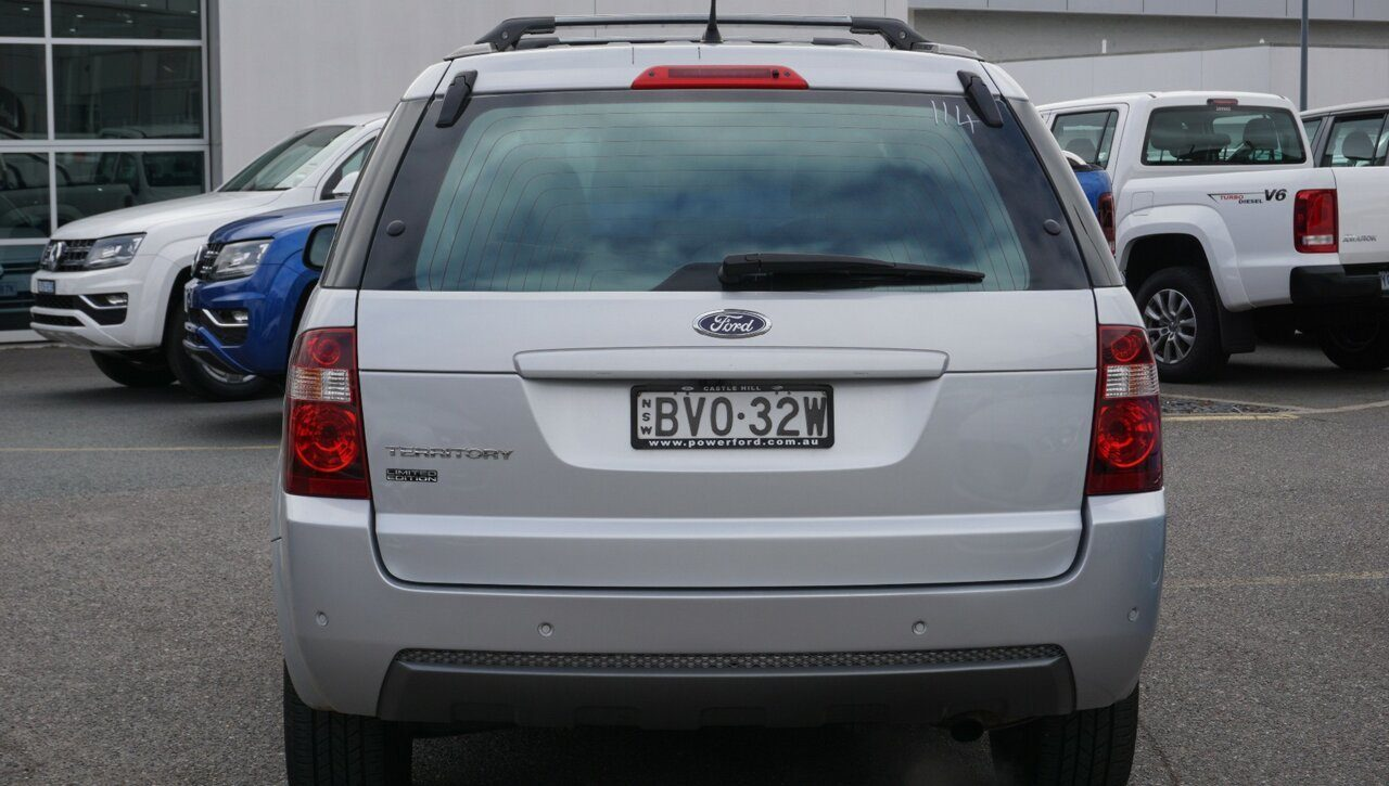 2011 Ford Territory TS RWD Limited Edition SY MkII