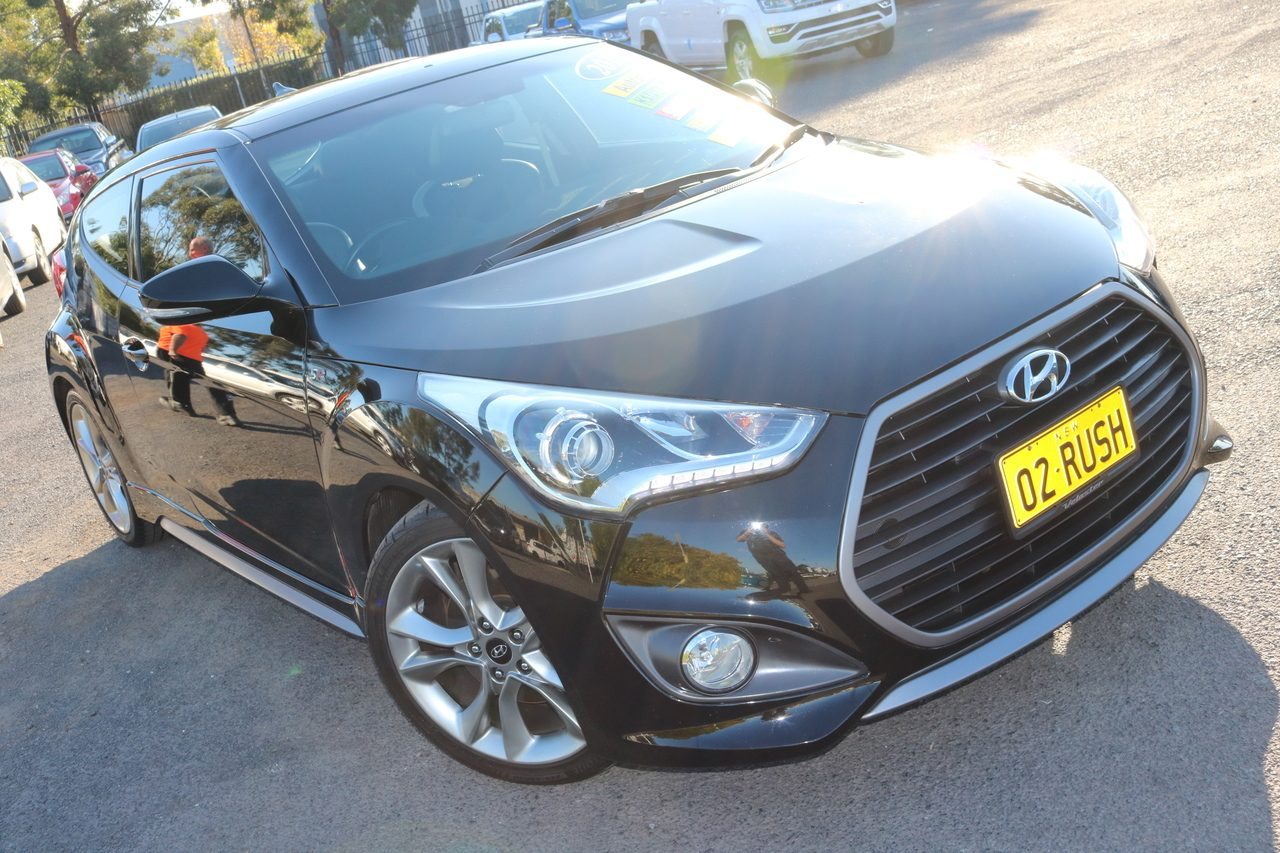 2015 Hyundai Veloster SR Coupe D-CT Turbo + FS4 Series II