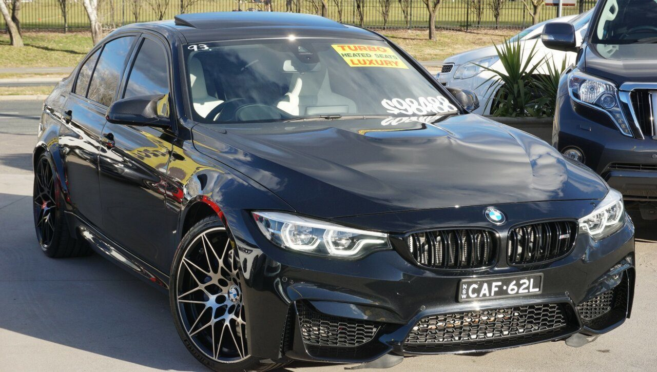 2018 BMW M3 Competition M-DCT F80 LCI
