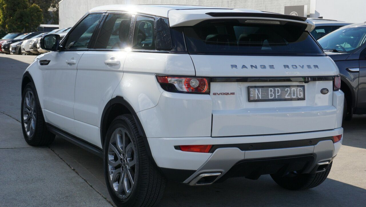 2013 Land Rover Range Rover Evoque Si4 CommandShift Dynamic L538 MY13