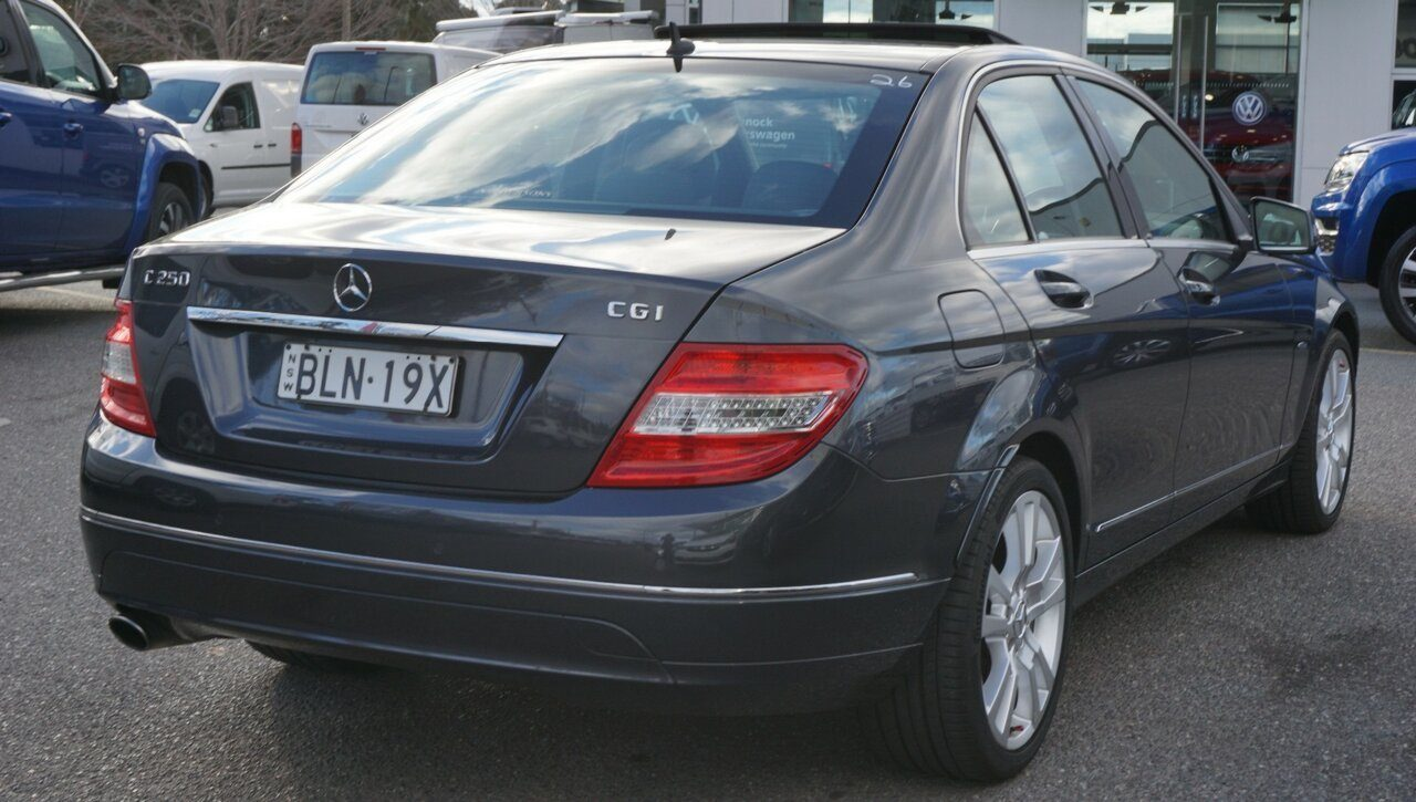 2011 Mercedes-Benz C-Class C250 BlueEFFICIENCY 7G-Tronic + Avantgarde W204 MY11