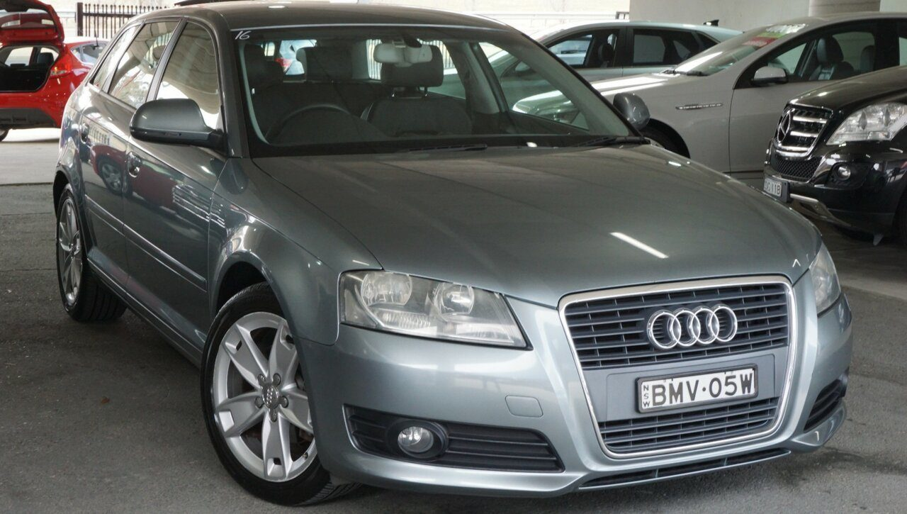 2009 Audi A3 Attraction S Tronic 8P MY09