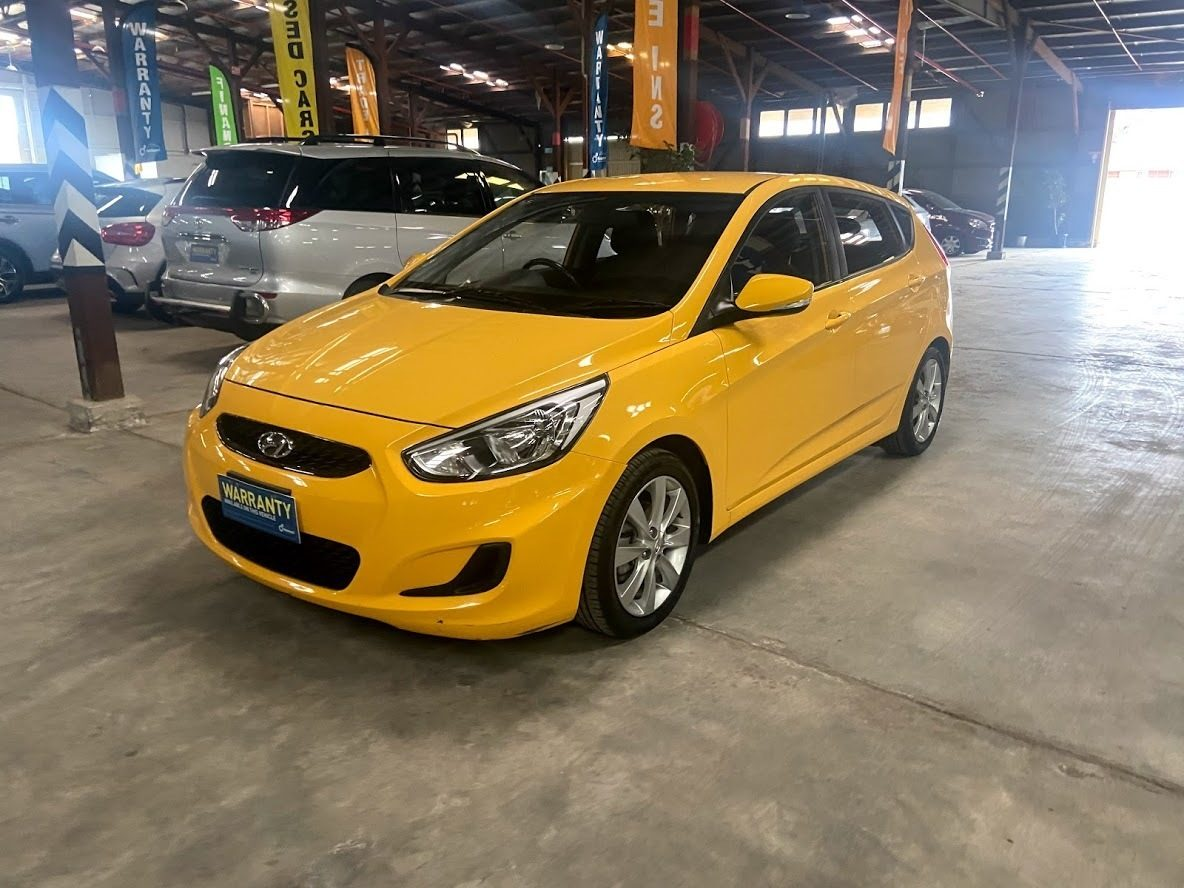 2018 Hyundai Accent Sport RB6 MY19