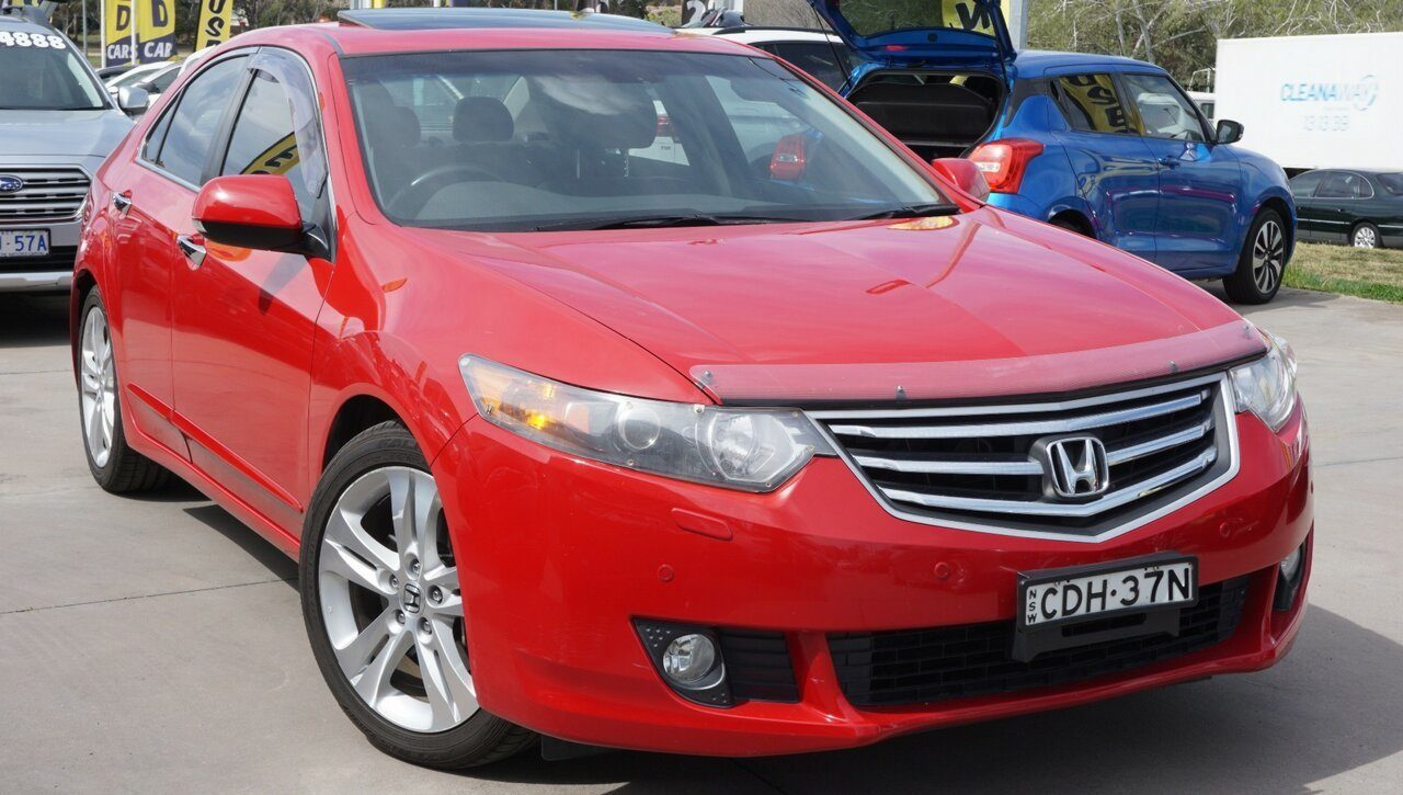 2011 Honda Accord Euro Luxury Navi CU MY11