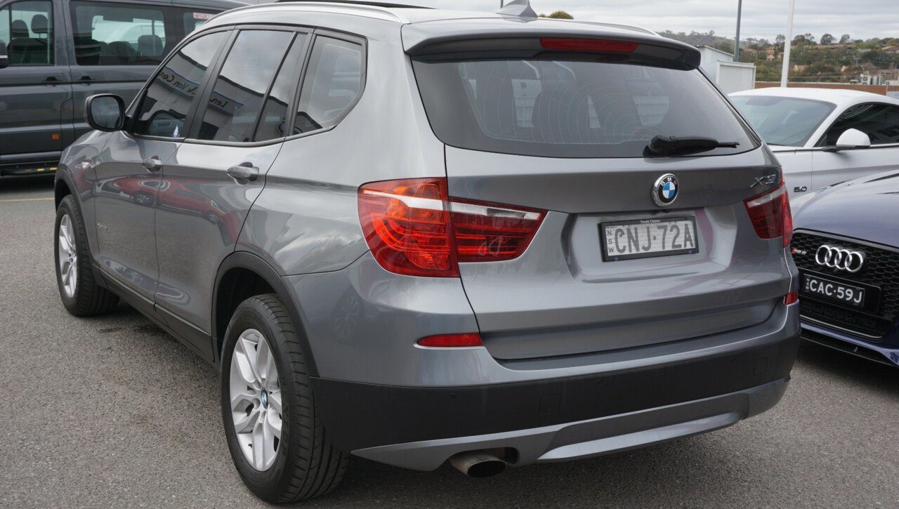 2013 BMW X3 xDrive20i Steptronic F25 MY1112