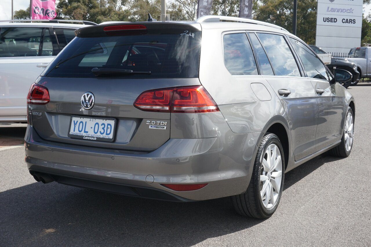 2016 Volkswagen Golf 110TDI DSG Highline VII MY16