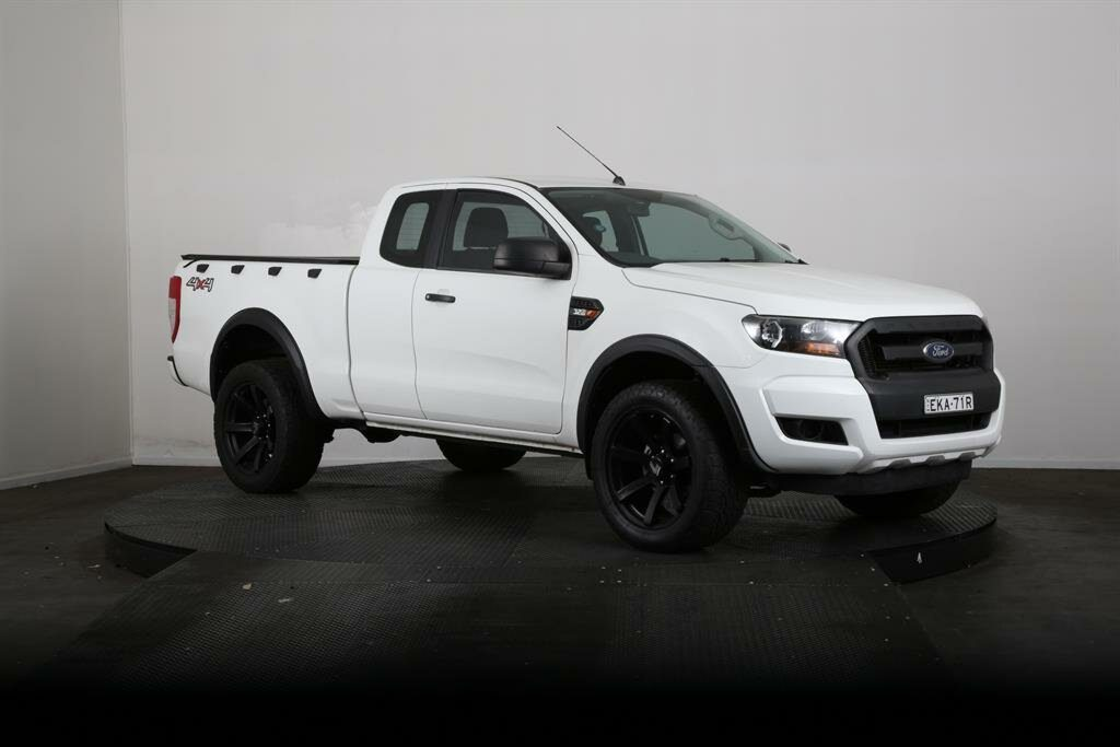 2017 Ford Ranger XL 3.2 (4x4) PX MkII MY17 Update