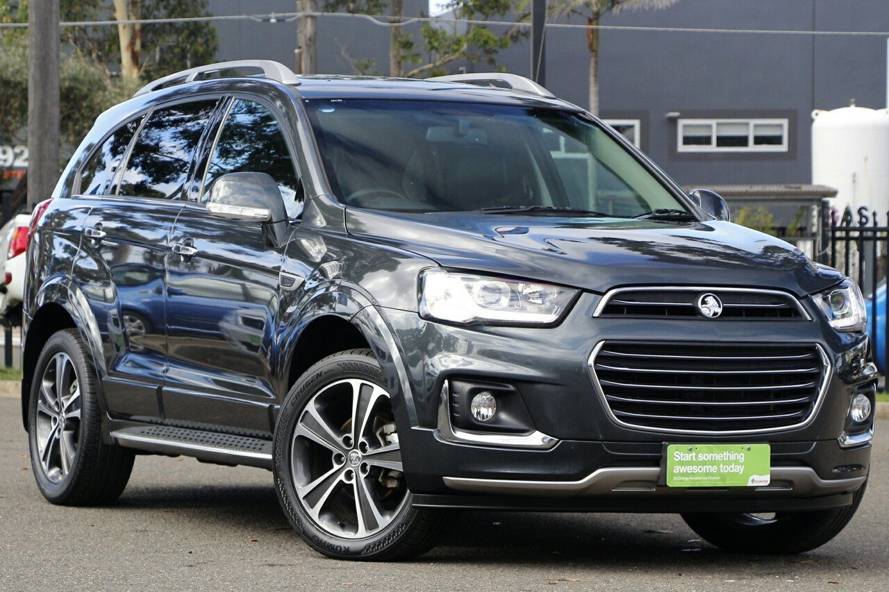 2018 Holden Captiva LTZ AWD CG MY18