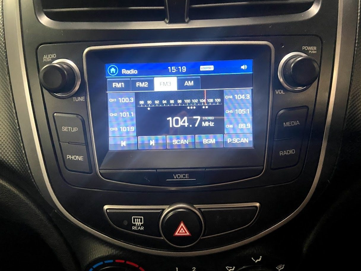 2016 Hyundai Accent Active RB4 MY16