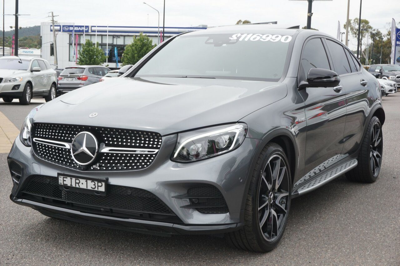 2019 Mercedes-Benz GLC-Class GLC43 AMG Coupe 9G-Tronic 4MATIC C253 809MY