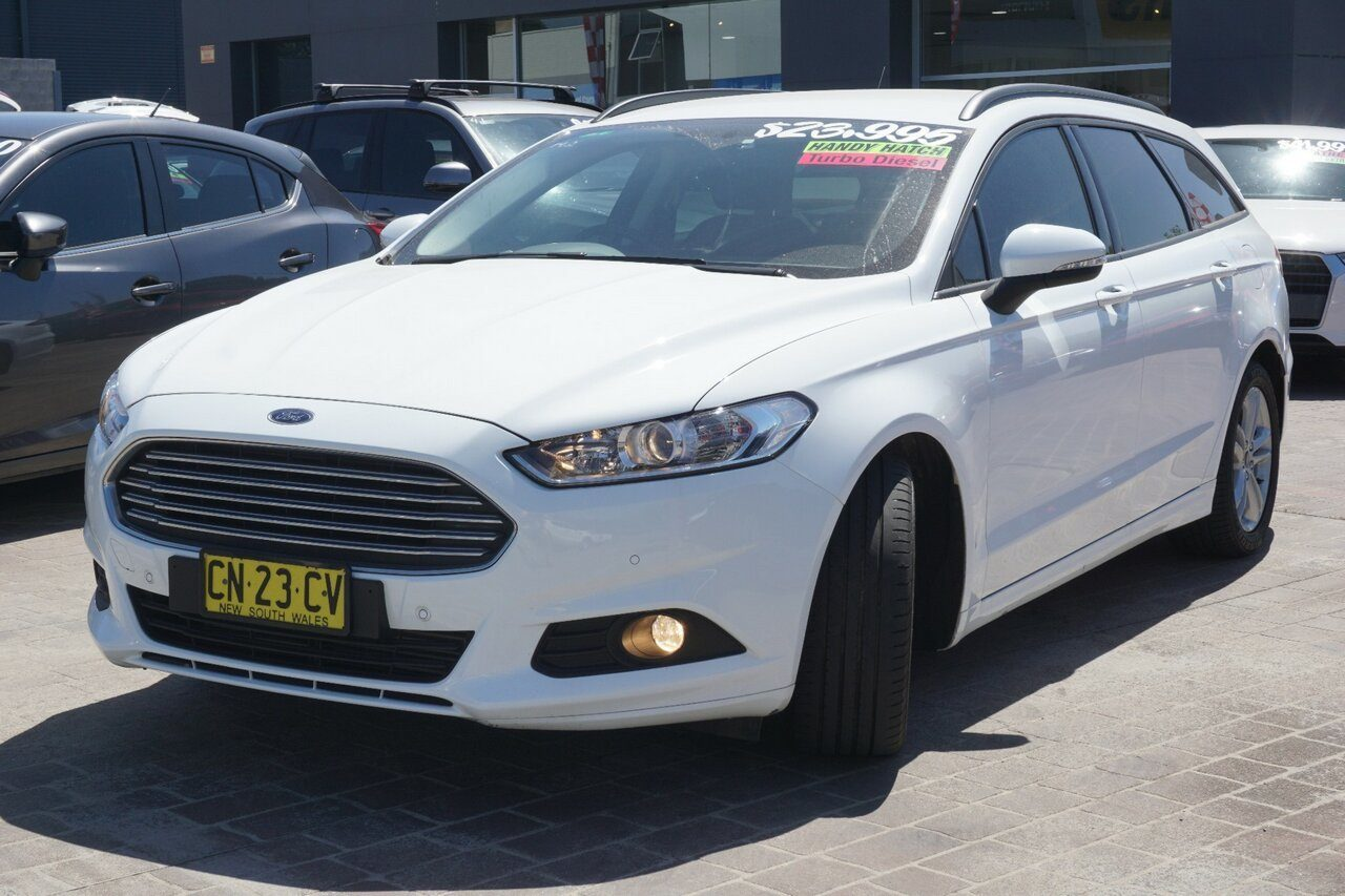 2017 Ford Mondeo Ambiente MD 2017.50MY