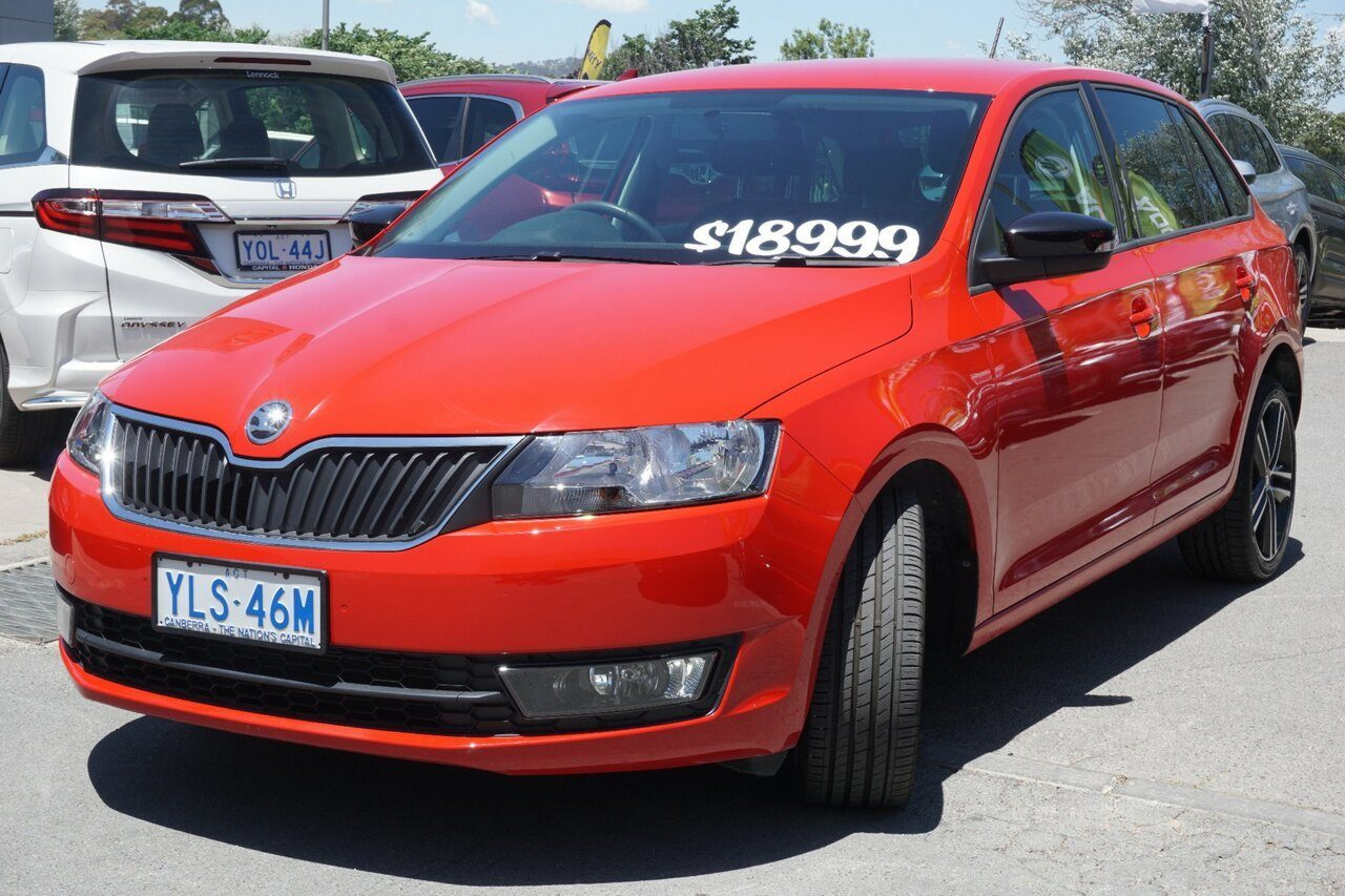 2017 ŠKODA Rapid Spaceback DSG NH MY17