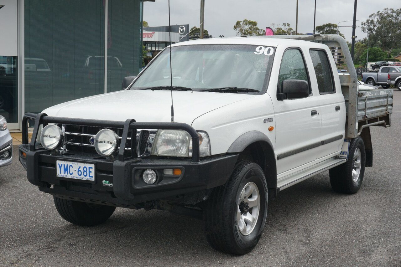 2003 Ford Courier XL Crew Cab PG