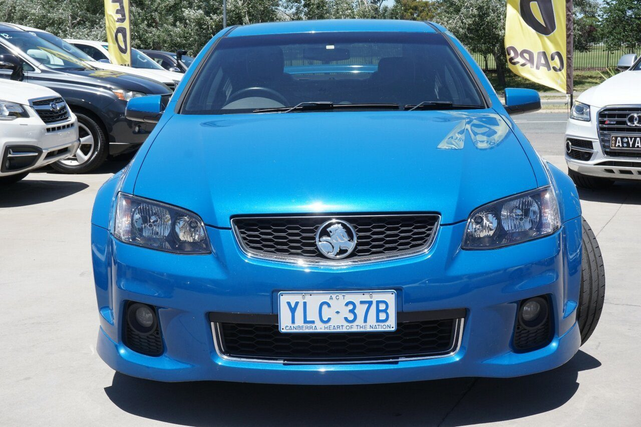 2012 Holden Commodore SV6 Z Series VE II MY12.5