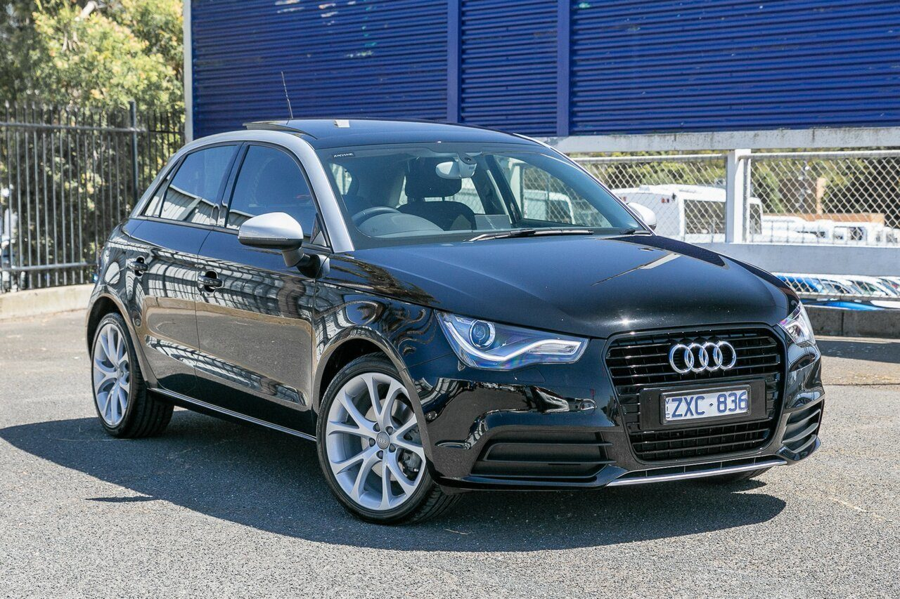 2013 Audi A1 Attraction Sportback S Tronic 8X MY13