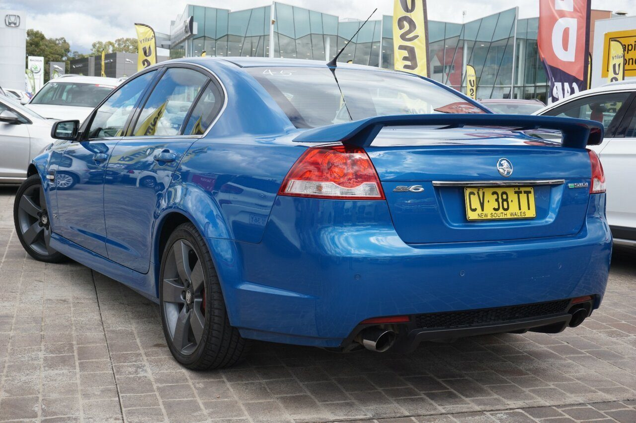 2013 Holden Commodore SV6 Z Series VE II MY12.5