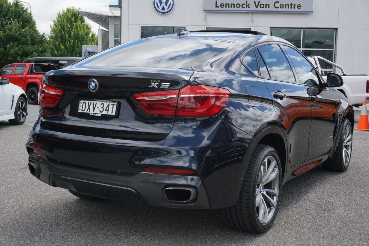 2015 BMW X6 xDrive50i Coupe Steptronic F16