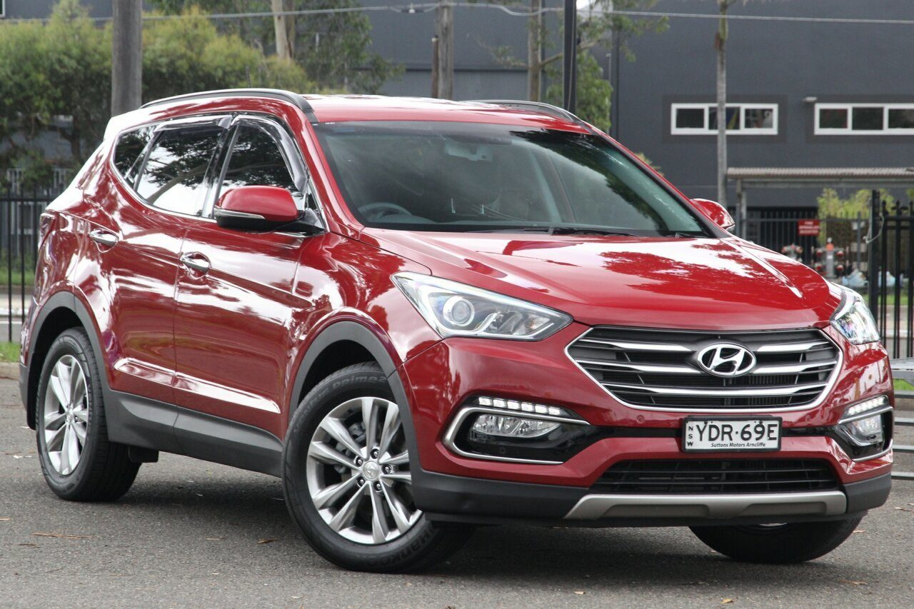 2016 Hyundai Santa Fe Elite DM3 MY16