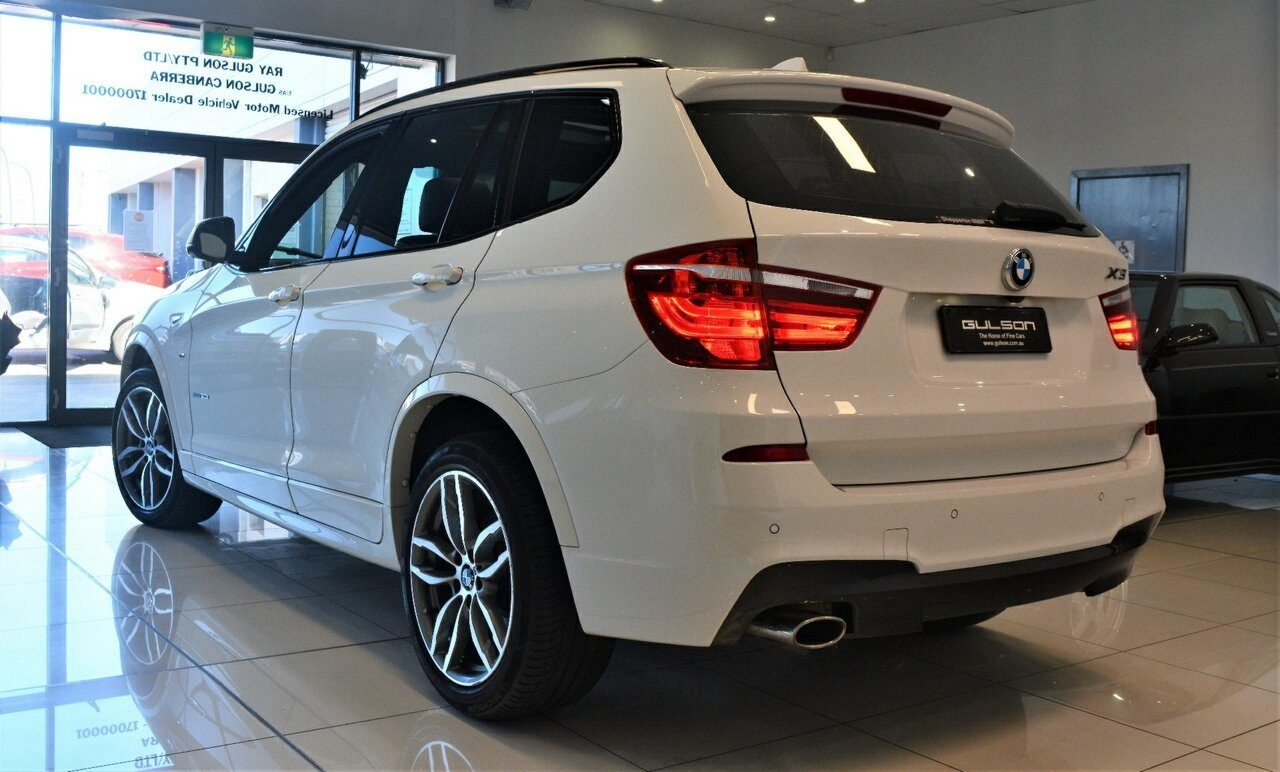 2016 BMW X3 xDrive20d Steptronic F25 LCI