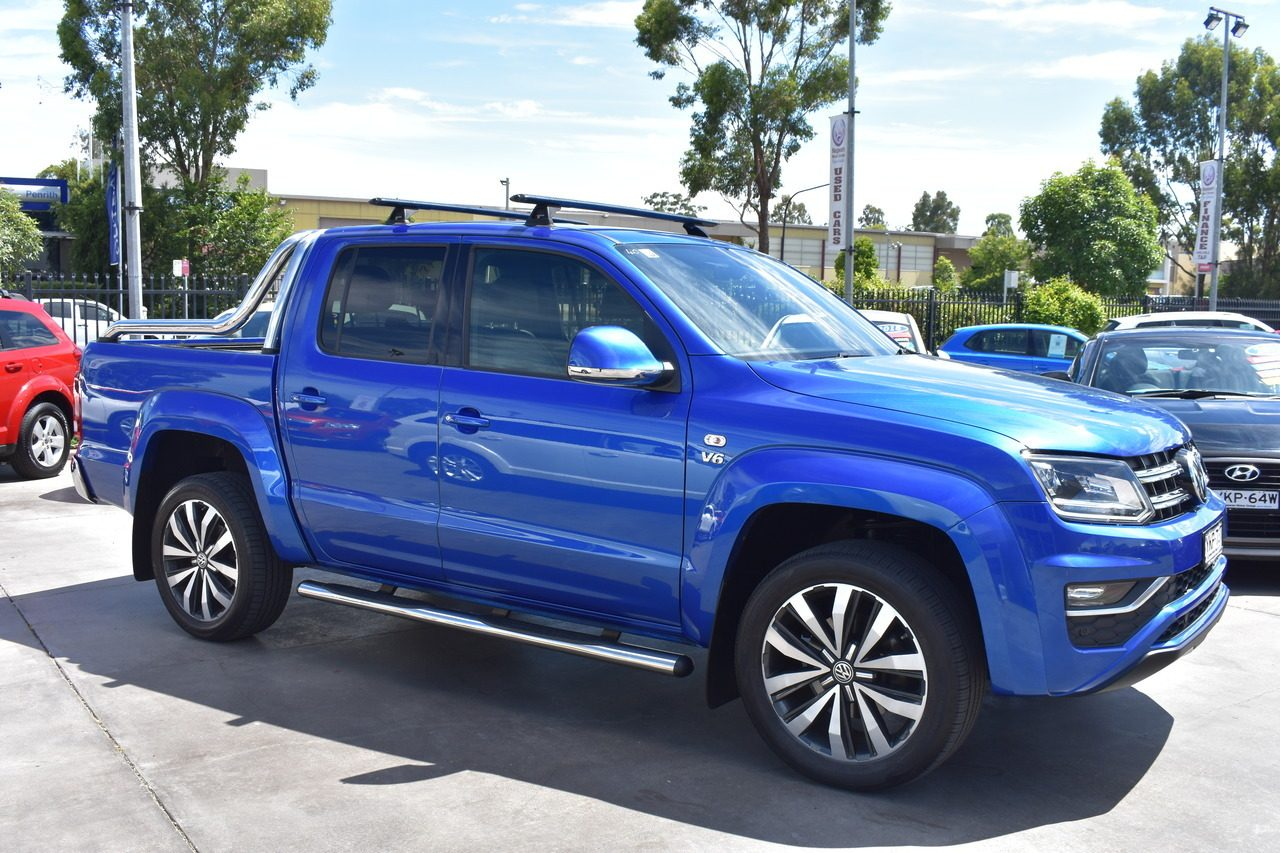 2018 Volkswagen Amarok TDI580 4MOTION Perm Ultimate 2H MY18
