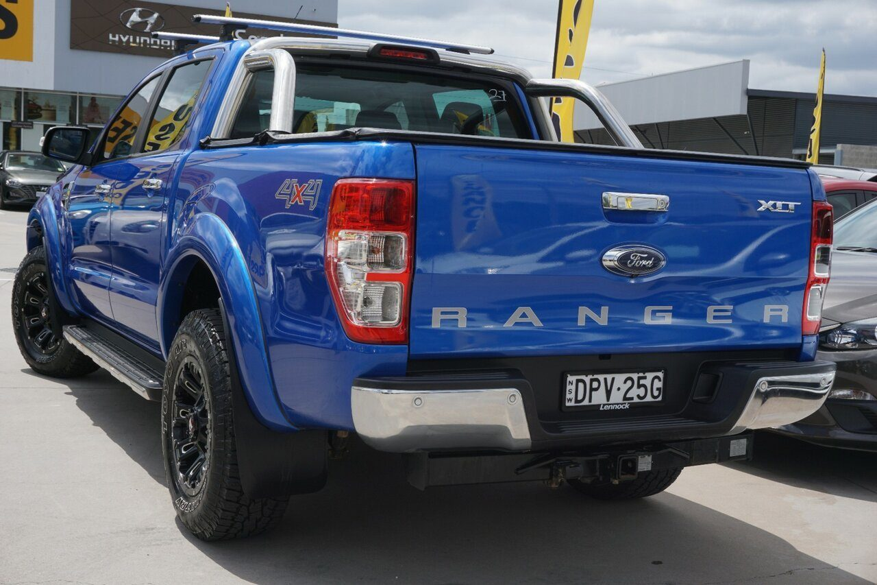 2017 Ford Ranger XLT Double Cab PX MkII