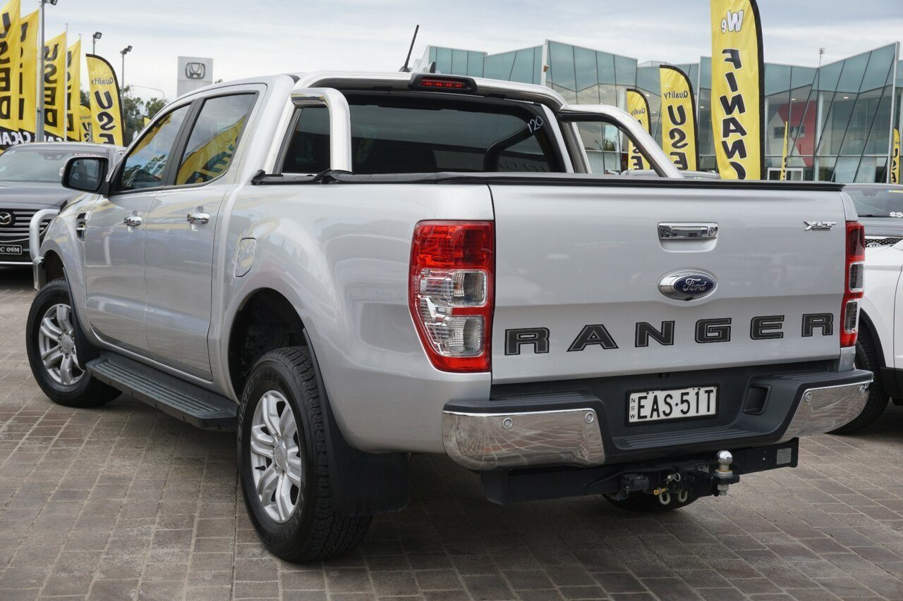 2018 Ford Ranger XLT Double Cab PX MkII 2018.00MY