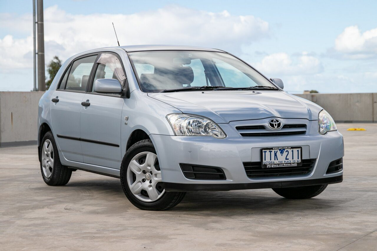 2005 Toyota Corolla Ascent ZZE122R 5Y