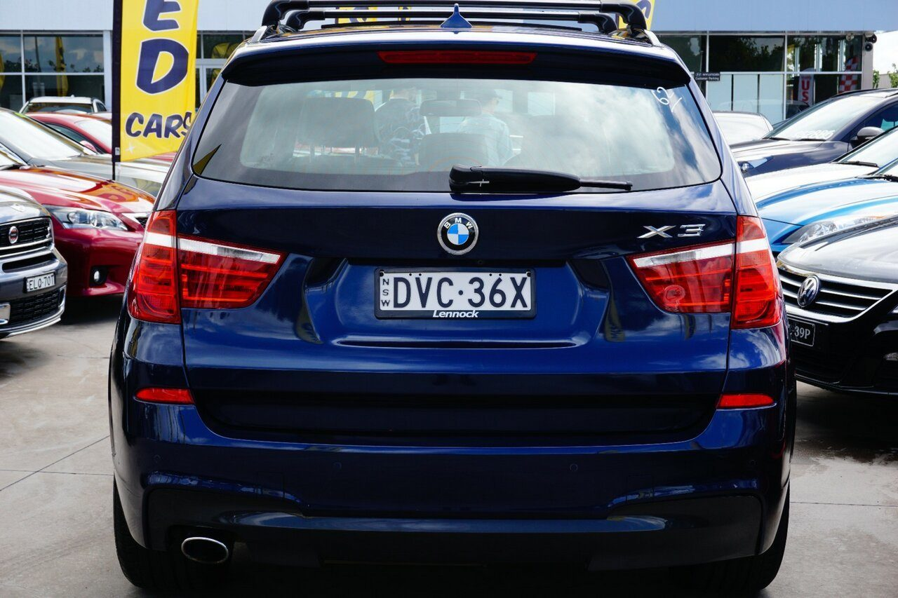 2013 BMW X3 xDrive20d Steptronic F25 MY1112