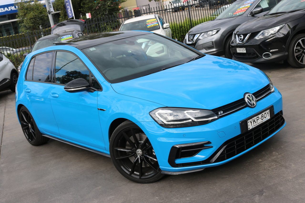 2020 Volkswagen Golf R DSG 4MOTION Final Edition 7.5 MY20