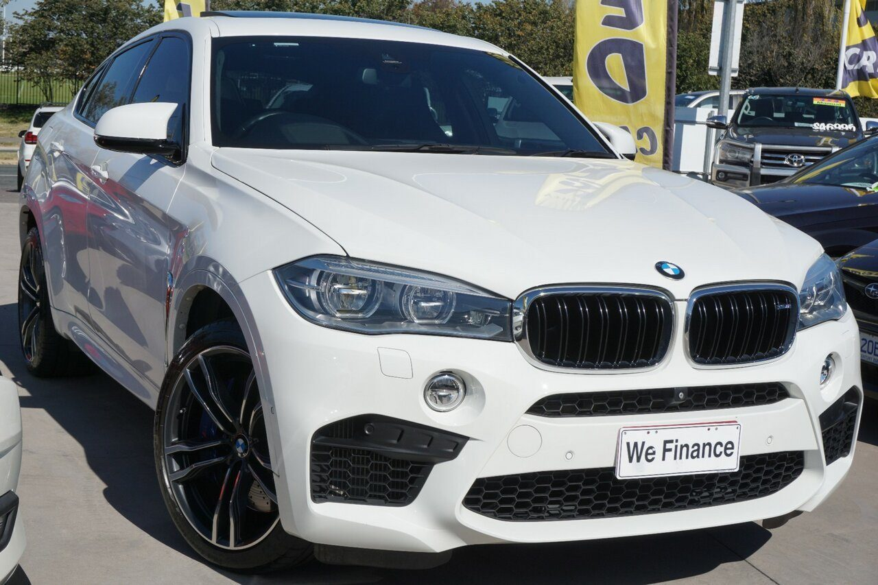 2016 BMW X6 M Coupe Steptronic F86