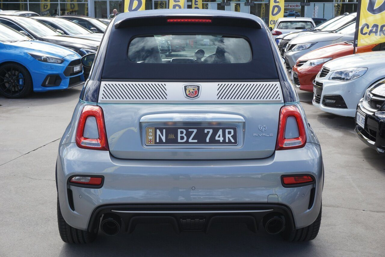 2019 Abarth 695 Rivale Dualogic Series 4