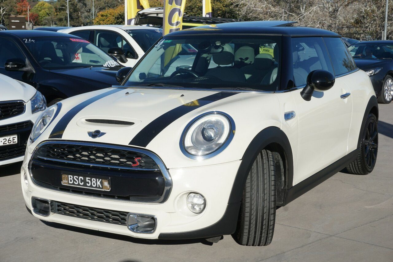 2014 Mini Hatch Cooper S F56