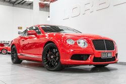 2014 Bentley Continental Gt V8 S 3w My15
