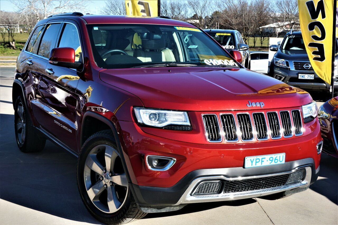 2013 Jeep Grand Cherokee Limited WK MY2013