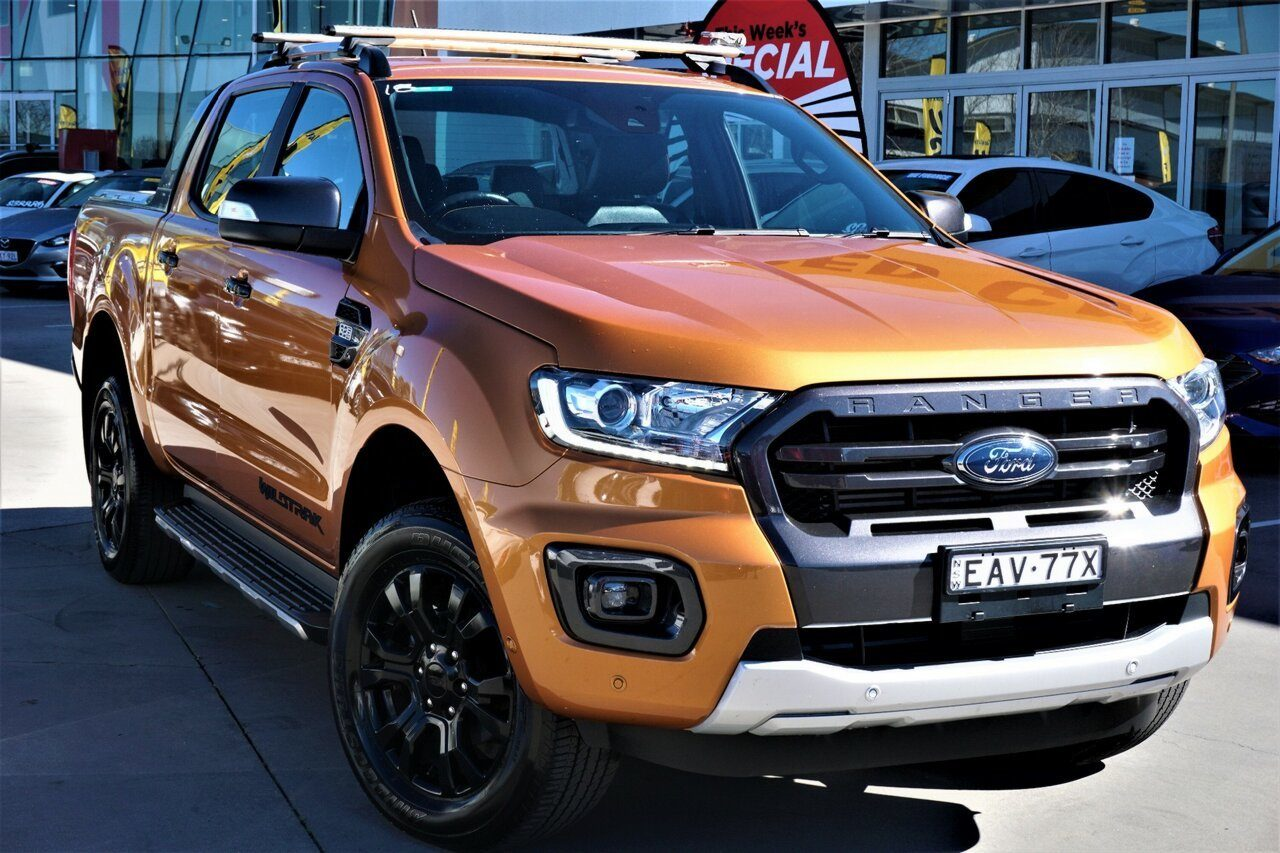 2018 Ford Ranger Wildtrak Double Cab PX MkII 2018.00MY