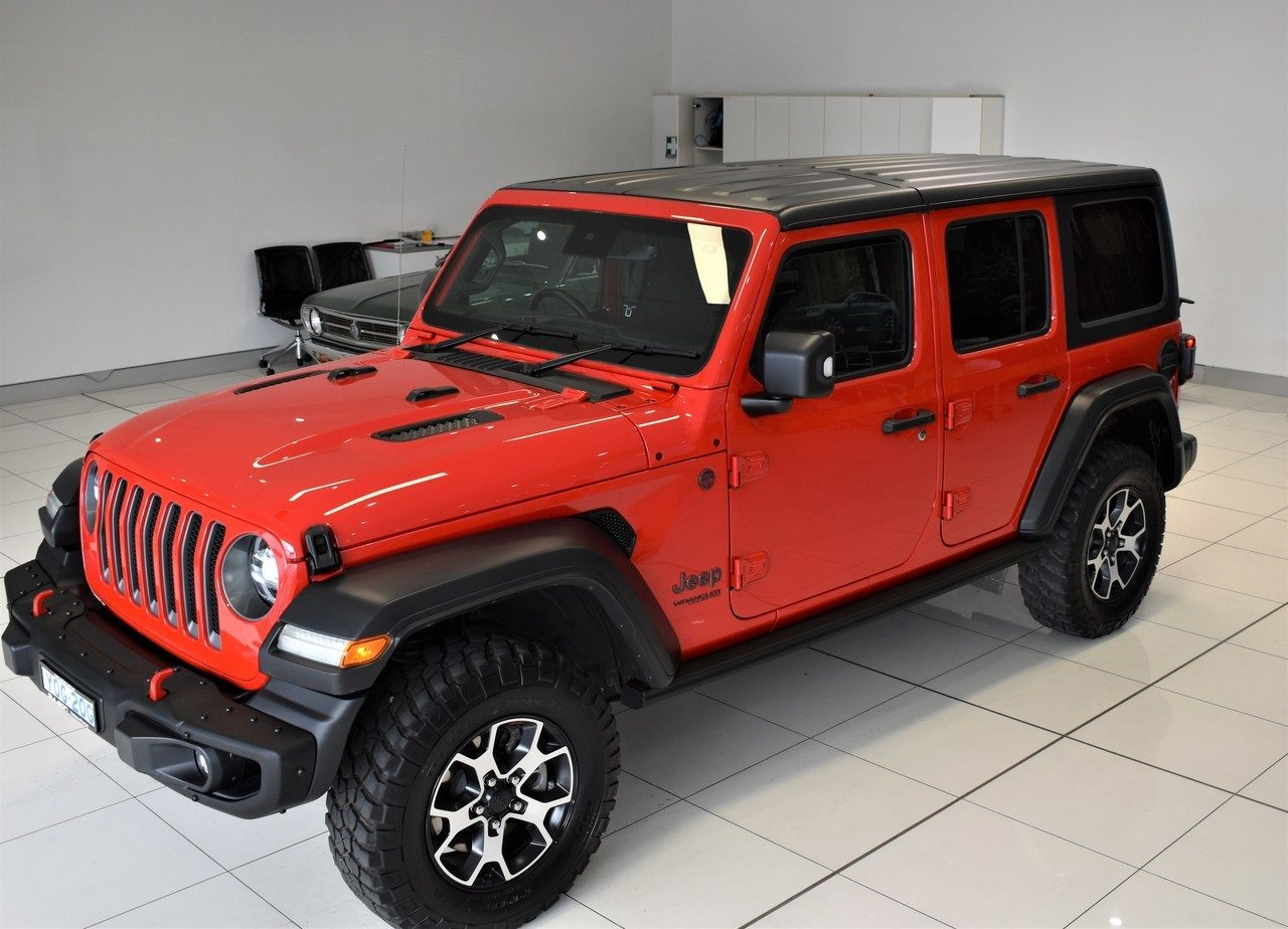 2020 Jeep Wrangler Unlimited Rubicon JL MY20