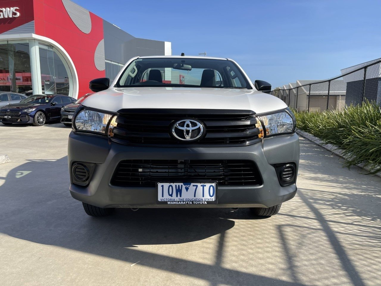 2019 Toyota Hilux Workmate 4x2 TGN121R