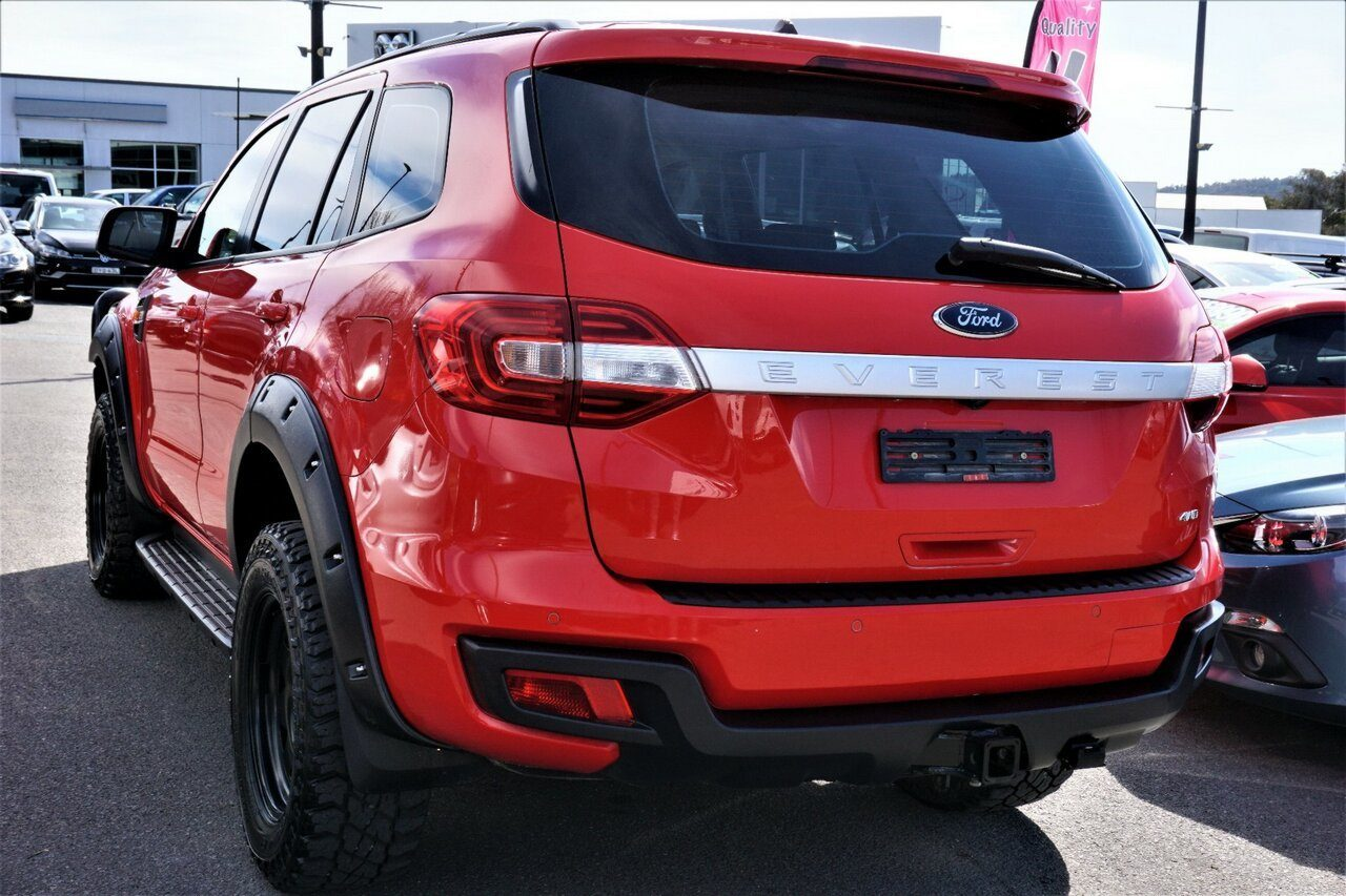 2017 Ford Everest Ambiente UA 2018.00MY