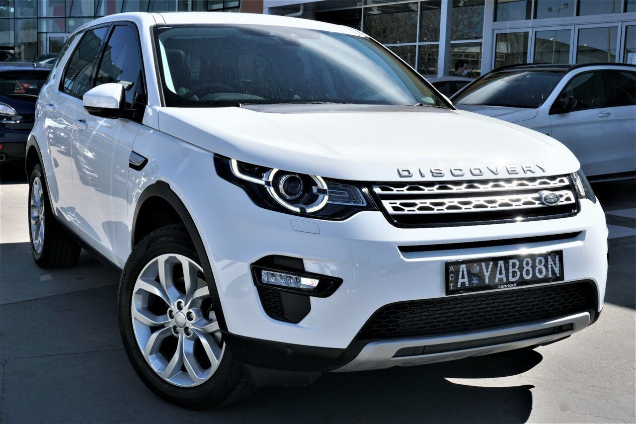 2016 Land Rover Discovery Sport HSE L550 16.5MY