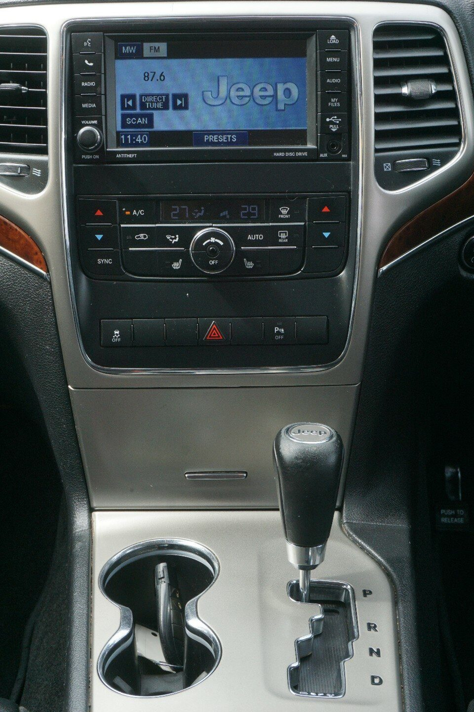 2012 Jeep Grand Cherokee Limited WK MY2012