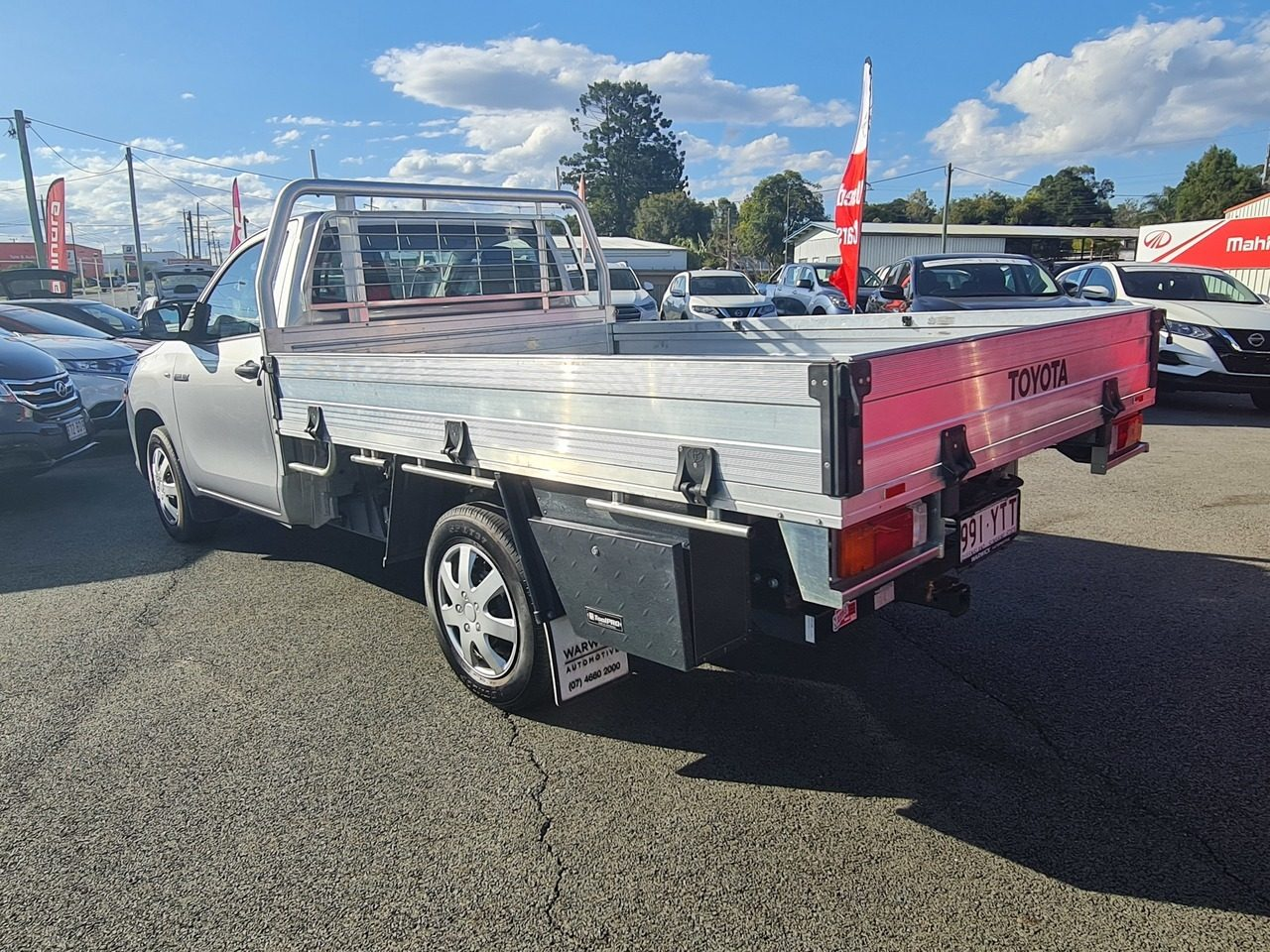2018 Toyota Hilux Workmate 4x2 TGN121R