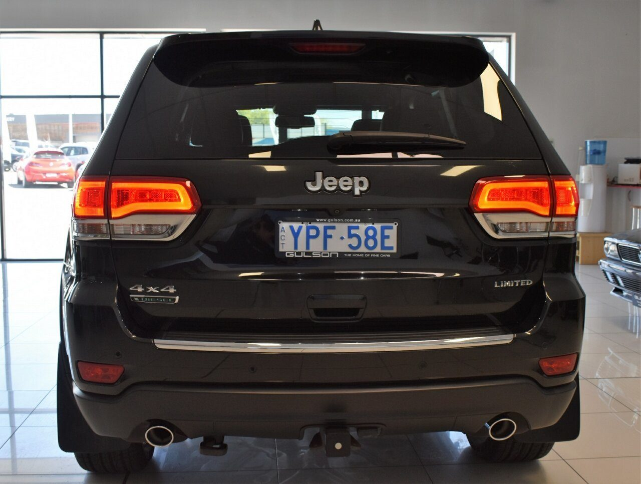 2015 Jeep Grand Cherokee Limited WK MY15